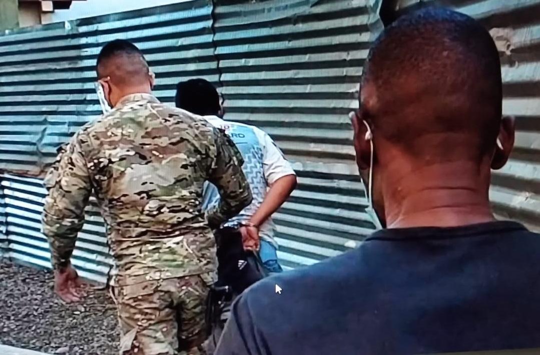 Los imputados fueron llevados a un centro penal en la provincia de Bocas del Toro. Foto: Mayra Madrid