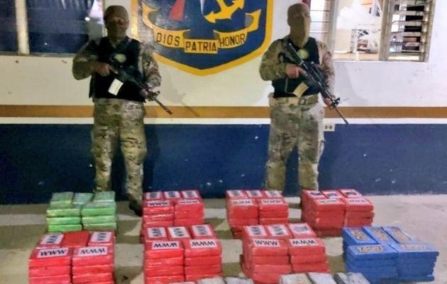 El Servicio Nacional Aeronaval en lo que va del año ha ejecutado cerca de 101 operaciones efectivas contra el narcotráfico dando como resultado el decomiso de 50,527 paquetes de drogas. Foto: Cortesía Senan