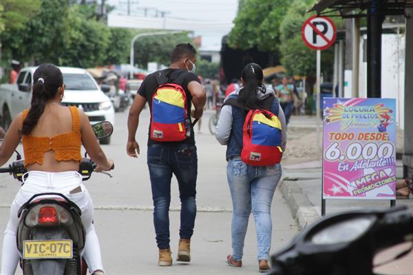 La ONU cifra en más de cinco millones las personas que salieron de Venezuela en el último lustro. Foto: EFE