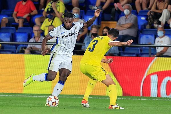Villarreal y Atalanta terminaron empatados 2-2. Foto: EFE