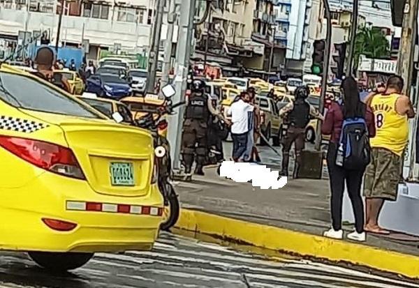 El ataque con arma fuego en la 5 de Mayo, en la que murieron dos personas, fue confirmado por el Ministerio Público en su cuenta de Twitter.
