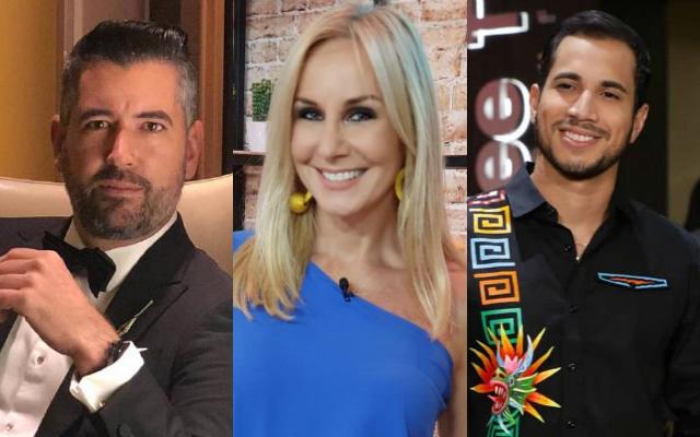 Ricardo Velásquez, Karen Chalmers y Elmis Castillo. Fotos: Archivo