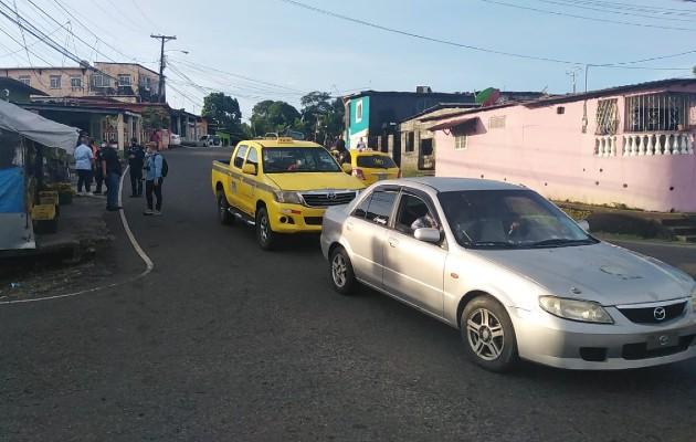 Una vez herida, la víctima fue trasladada al hospital Manuel Amador Guerrero donde se dictaminó su muerte. Foto: Diomedes Sánchez