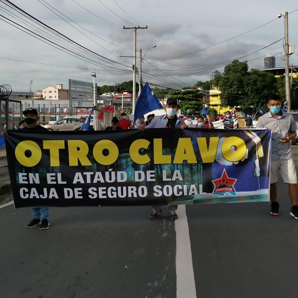 La marcha se realizará este miércoles desde el Parque Porras hacia la Asamblea Nacional. Foto: Internet