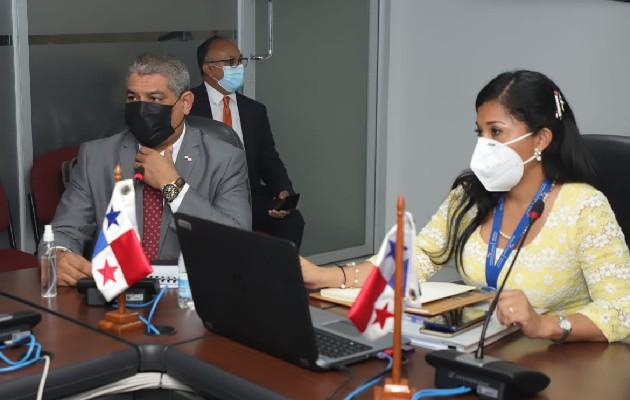 Ministro Luis Francisco Sucre sustentó presupuesto del Minsa. Foto: Cortesía Asamblea