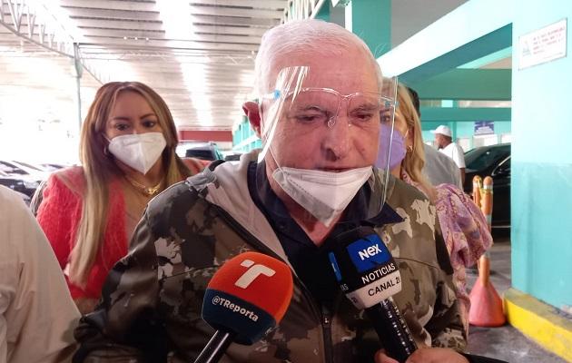 Ricardo Martinelli dijo que nunca se elaboró un plan de espionaje. Foto: Víctor Arosemena