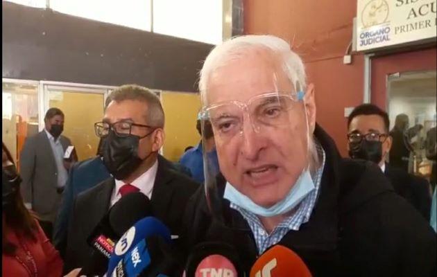 El juicio contra el expresidente Ricardo Martinelli se desarrolla en la sede del SPA de Plaza Ágora. Foto: Víctor Arosemena