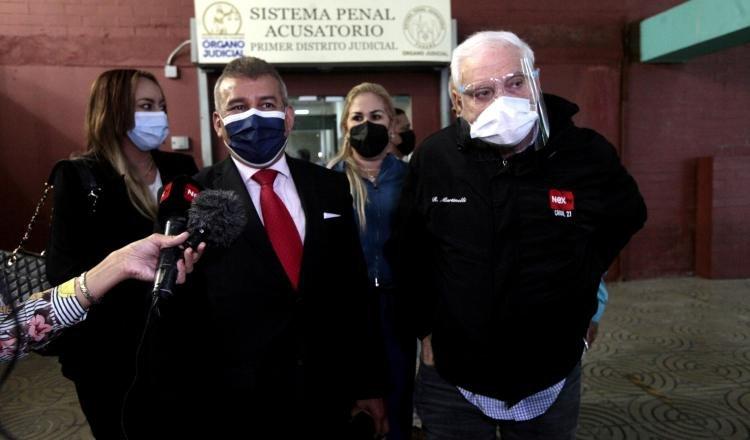 La defensa del exmandatario Ricardo Martinelli asegura que ya la fiscalía está vencida en este caso. Foto: Víctor Arosemena
