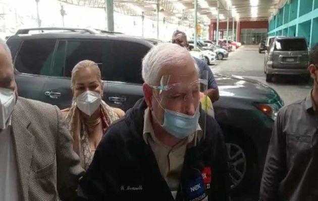 El expresidente Ricardo Martinelli ha denunciado que este juicio se armó para perseguirlo políticamente. Foto: Víctor Arosemena