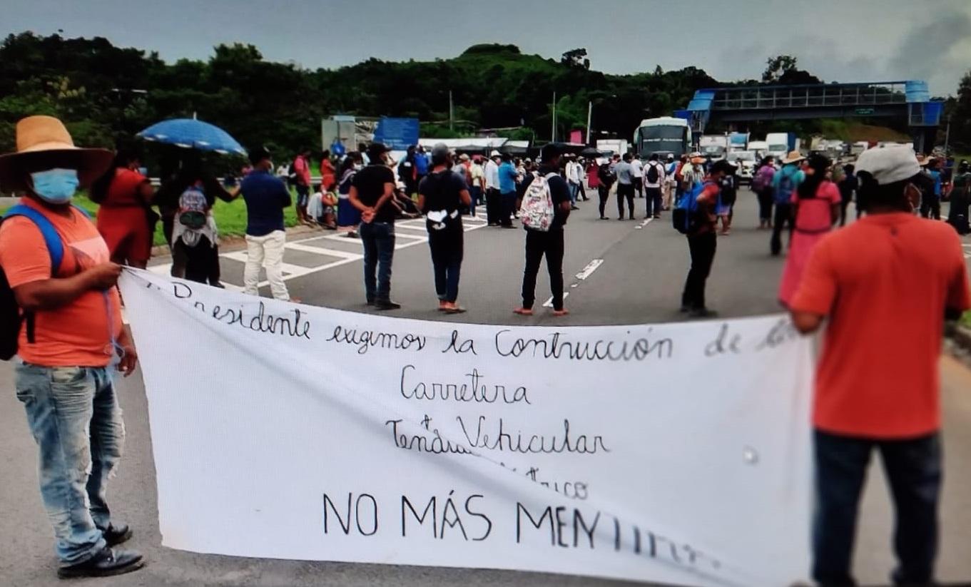 Ahora exigen la presencia del presidente de la República, Laurentino Cortizo. Foto: Melquiades Vásquez