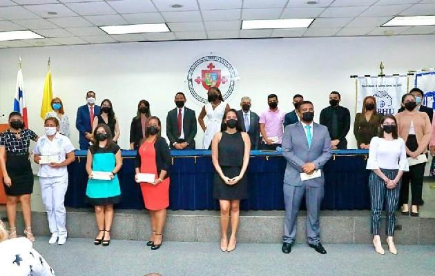 Consejo de Rectores de Panamá e Ifarhu firma acuerdo. Foto: Cortesía Ifarhu