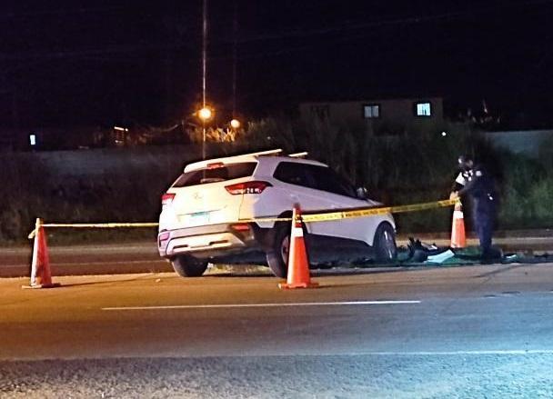 El fatal accidente se registró cerca de la medianoche. Foto: José Vásquez