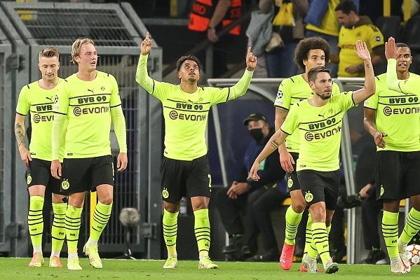 Borussia Dortmund le ganó 1-0 al Sporting de Lisboa. Foto: EFE