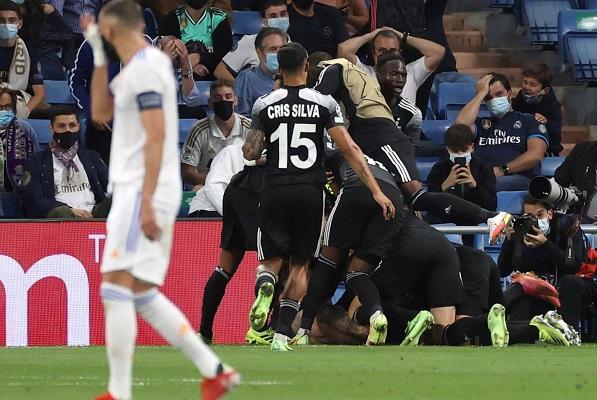 Sheriff le pegó en casa al Real Madrid 2-1. Foto: EFE