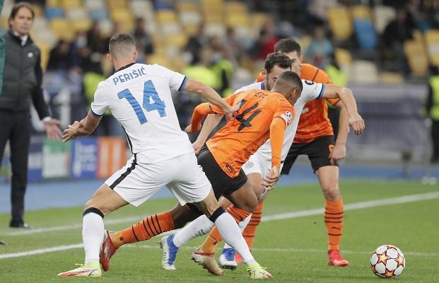 Shaktar e Inter de Milán terminaron empatados sin goles. Foto: EFE