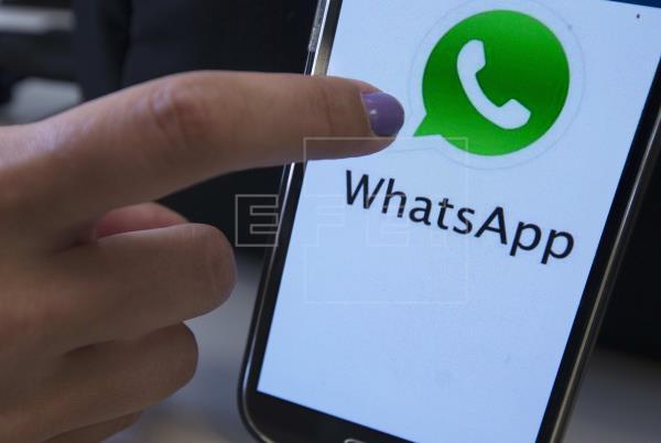 WhatsApp estuvo inoperativo por más de seis horas. Foto: EFE