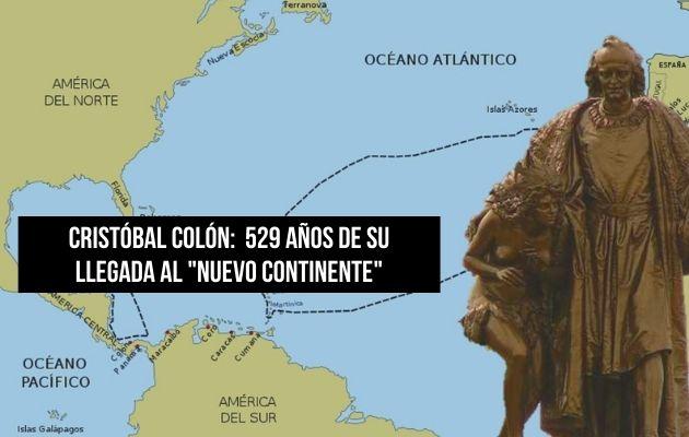 Recorrido de Cristóbal Colón, descubrimiento de América. Foto: Cortesía