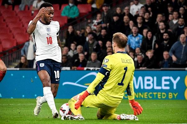 Inglaterra empató en casa 1-1 con Hungría. Foto: EFE