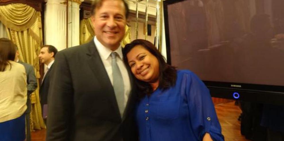 Castalia Pascual era muy allegada al entonces presidente Juan Carlos Varela. Foto: Cortesía