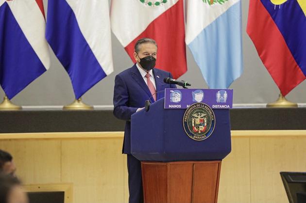 El presidente de Panamá, Laurentino Cortizo, participará en la reunión. Foto: Cortesía @NitoCortizo