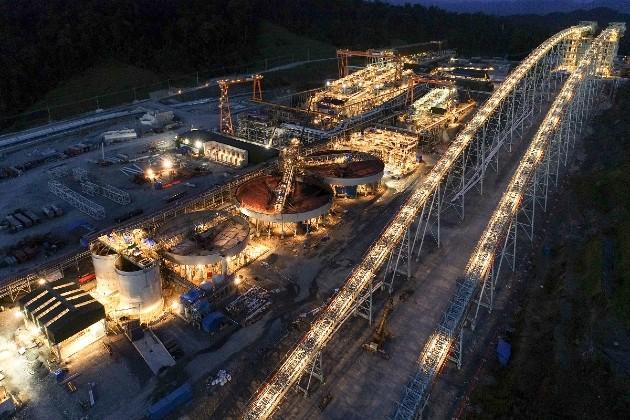 Imagen de la planta de proceso de Cobre Panamá. Foto/cobrepanama.com
