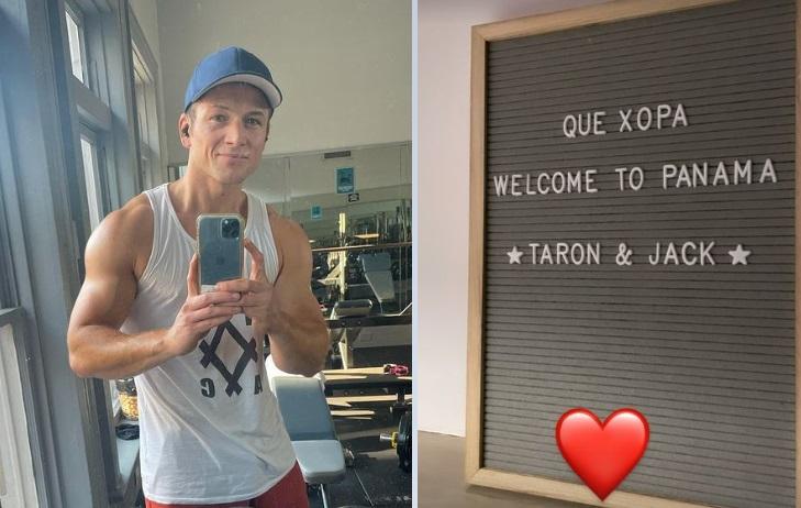 Taron Egerton. Instagram