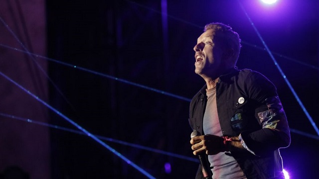 Chris Martin, líder de Coldplay. Foto: EFE / EPA / Peter Foley