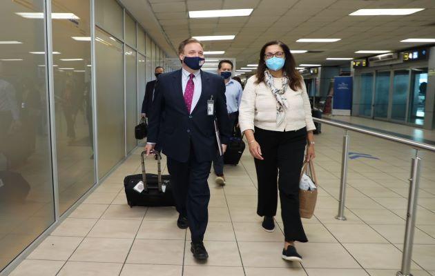 Uzra Zeya, subsecretaria de Estado de Seguridad Civil, Democracia y Derechos Humanos de Estados Unidos, está en Panamá. Foto: Cortesía Embajada de EE.UU.