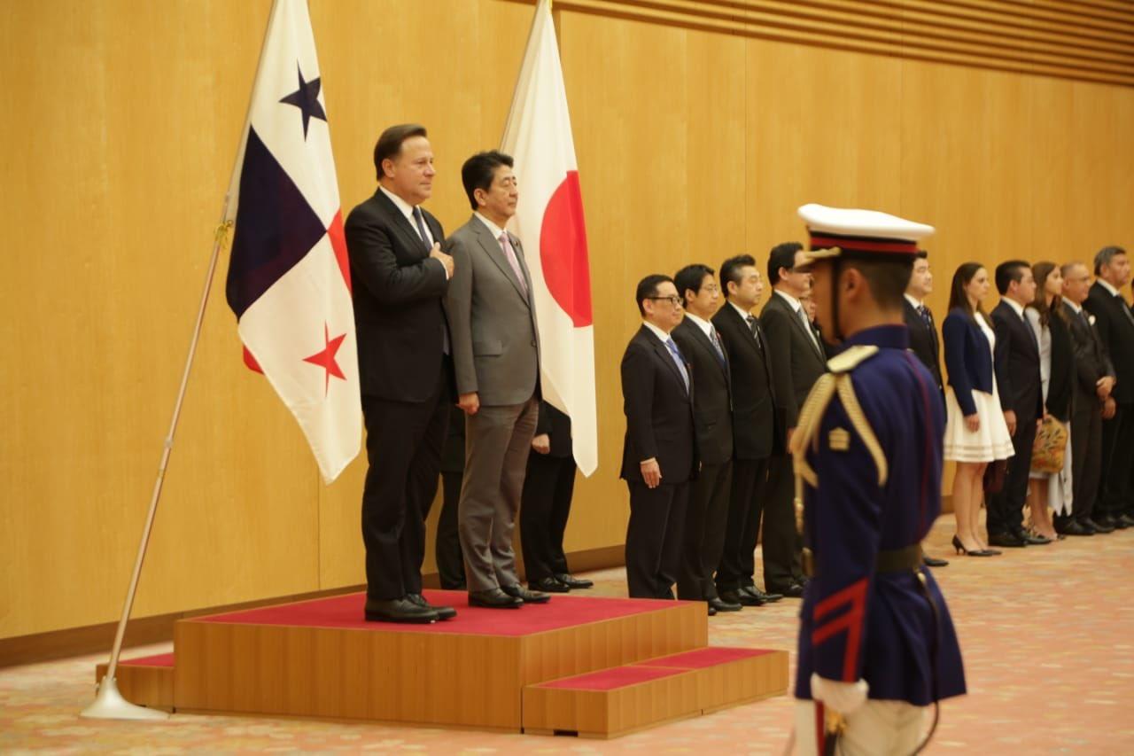 Shinzo Abe, afirmó que Panamá es un socio trascendental para su país.