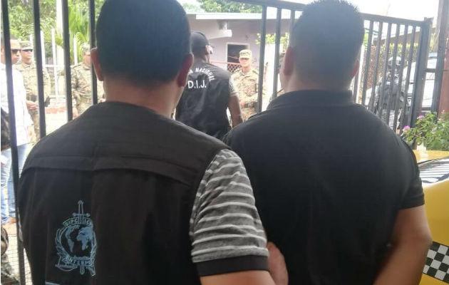 Fue aprehendido este sábado en la provincia de Chiriquí. Foto: José Vásquez.