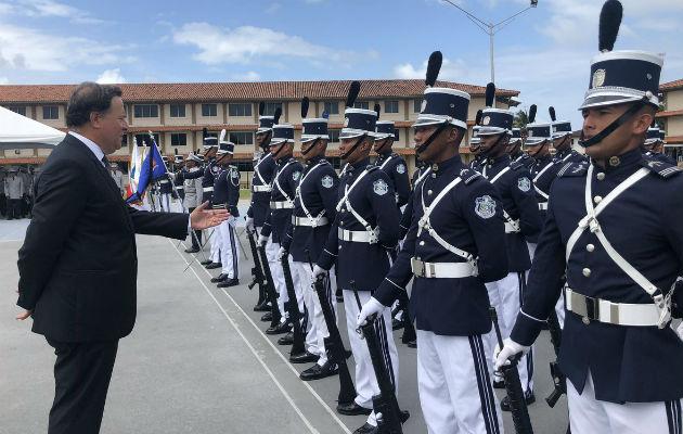 Nueva estrategia se anunció en acto realizado en Escuela de Oficiales, en Colón. Foto/Cortesía
