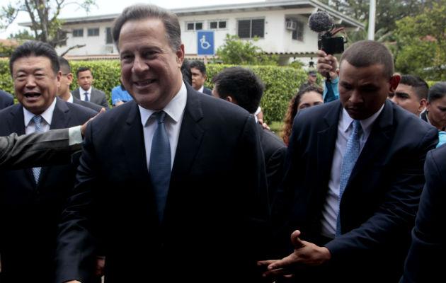 Presidente Juan Carlos Varela. Foto/Víctor Arosemena