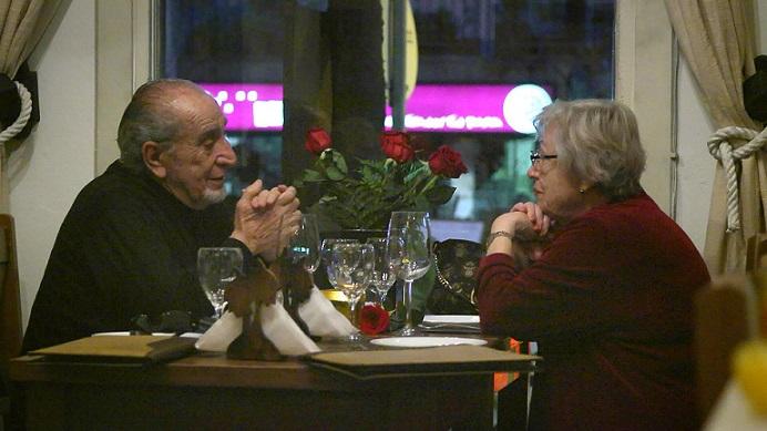 Aldo Macor y Gabriella Pelissero en la cinta