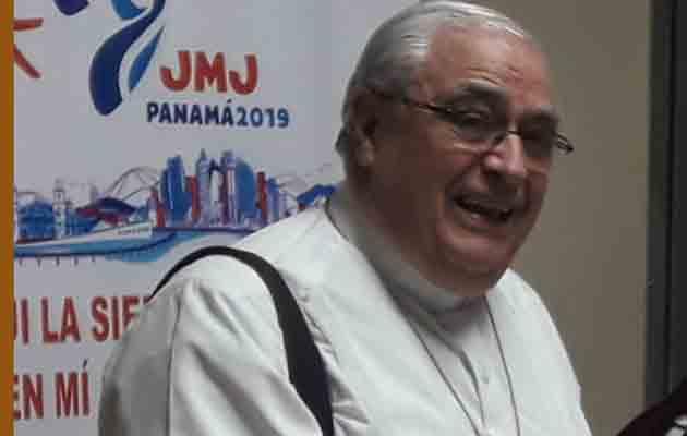 Jose Luis Lacunza, precisa que la JMJ no es el evento para ventilar la problemática nacional. Foto/Mayra Madrid