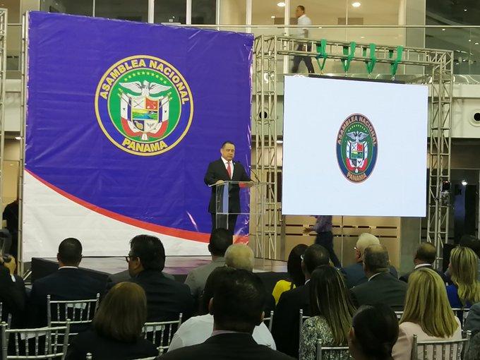 Marcos Castillero aseguró que la transparencia será una característica de la actual Asamblea Nacional. Foto: Asamblea Nacional.