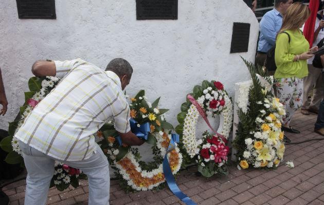 El primer mártir en caer fue Ascanio Arosemena, en el área de Balboa y luego unos 21 estudiantes más. Foto/Victor Arosemana