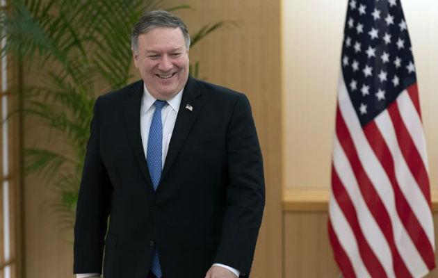 La defensa de la democracia en Venezuela y Nicaragua en agenda del Secretario de Estado del gobierno norteamericano, Michael Pompeo. Foto/EFE