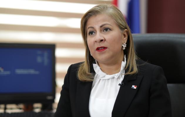 Inés Samudio asegura que no tiene intención de eliminar lo que hizo la administración pasada. Foto/Shino Suira