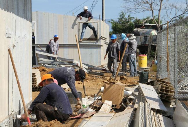 Luego de construir 35 casas la empresa ASC Panamá se declaró en quiebra. Foto: Panamá América.