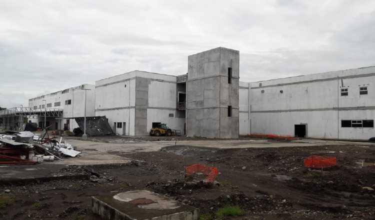 Así marcha la construcción del hospital de Bugaba, en Chiriquí. José Vásquez