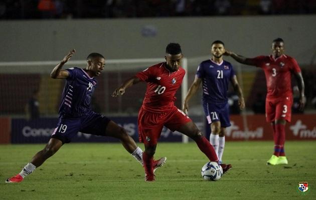 Panamá no pudo reaccionar.