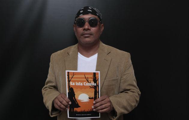 Periodista y escritor Británico Quesada. Foto: Víctor Arosemena.