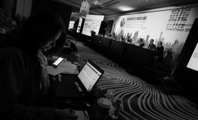Las agrupaciones de periodistas han unido fuerzas para defender los derechos de los que laboran en los diferentes medios de comunicación social. Foto: EFE.