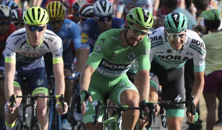 Peter Sagan en el Tour de Francia Foto @AP