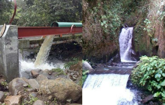 Residentes de Boquerón señalan que cada vez que se registran lluvias y aumenta el caudal del rio Chuspa la planta potabilizadora tiene problemas con la toma de agua afectando a toda la comunidad. Foto: Panamá América.