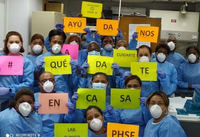 El mensaje busca crear conciencia en la población, clave para frenar esta pandemia.