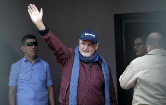 Querellantes inconformes con actuación de fiscalía en caso contra Ricardo Martinelli. Foto: Panamá América.