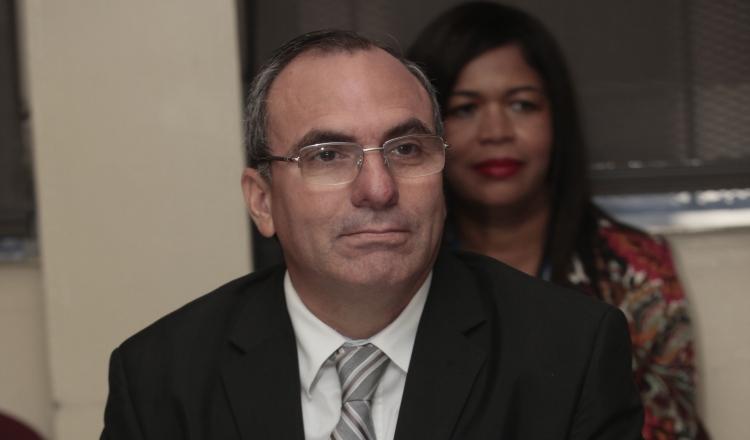 Rolando López, director del Consejo de Seguridad Nacional.
