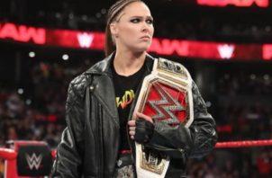 Rousey dijo que estar en la WWE le demandaba mucho tiempo. Cortesía
