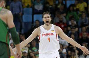 Pau Gasol es optimista con la NBA. Foto: AP